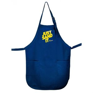 Uneeda Apron-Just Sand It- Navy Blue