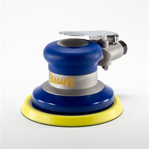 Ekasand Pneumatic Machine - 5 Inch - Non Vacuum - Vinyl Face - 3 / 16 Orbit