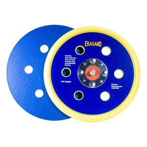Ekasand Disc Pad 6 x 6HV L / P 4-Rivet Vinyl Face for PSA