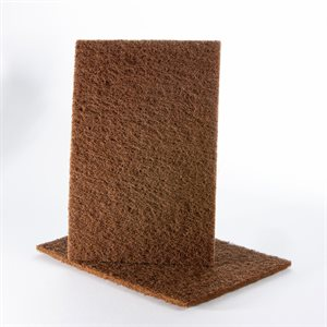 Hand Pad 6 x 9 Uneelon Brown (Coarse)
