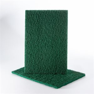 Hand Pad 6 x 9 Uneelon Green (Medium-Coarse)