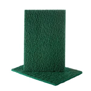 Hand Pad 6 x 9 Uneelon Green (Medium-Coarse)